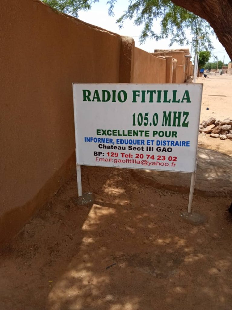 Radio fitila